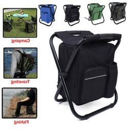 2 in 1 Fishing Chair Backpack Camping Bag Outdoor Hiking Pic