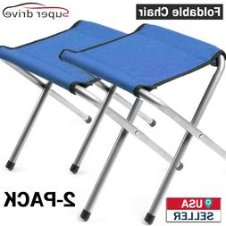 2-PACK Portable Garden Furniture Folding Chair For Outdoor S