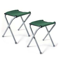 2 pcs portable chair folding camping stool