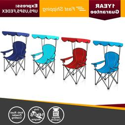 ALPHA CAMP 350 LBS Heavy Duty Shade Canopy Chair Folding Cam