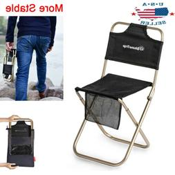 Aluminum Camping Stool Portable Folding Sports Travel Camp F