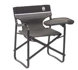 Coleman Aluminum Deck Chair with Swivel Table