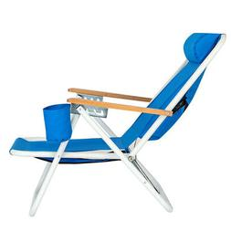 Backpack Beach Chair Portable Folding Seat Solid Construct C