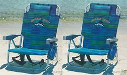 Tommy Bahama 2 2016 Backpack Cooler Beach Chair with Storage