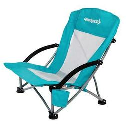 Beach Chair Low Sling Outdoor Camping Folding with Mesh Back