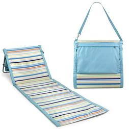 Beachcomber Portable Beach Mat - St. Tropez Collection