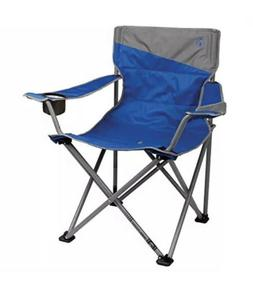 Coleman Big-N-Tall Quad Camping Chair - 2000026491, Blue
