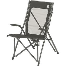 black steel frame comfortsmart suspension camping chair