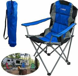 GigaTent Blue Folding Camping Chair – Ultra Lightweight Co