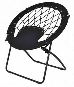Bungee Chairs for Adults Round Folding Steel Frame Camping H