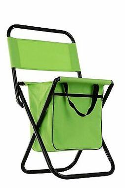 Wealers Kid Compact Foldable Camping Stool Chair Green