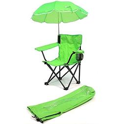 Kids Camp Chair, Lime Green