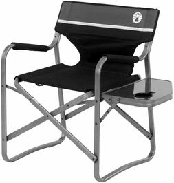Coleman Camp Chair with Table Folding Beach Chair for Tailga