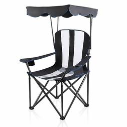 ALPHA CAMP Camp Chairs with Shade Canopy Chair Folding Campi