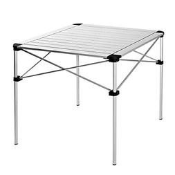 Camp Table Collapsible Aluminum Alloy Folding Lightweight Po
