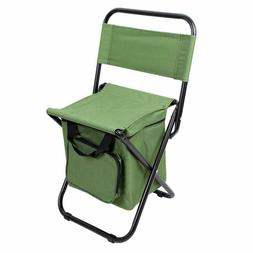 Camping Chair 16mmThick Steel Tube with Cooler Bag for Fishi