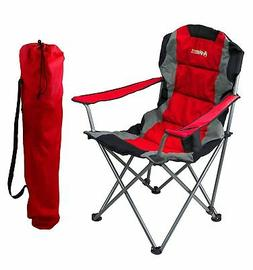 GigaTent Red Folding Camping Chair – Ultra Lightweight Col