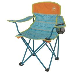 Coleman Kids Camping Chair Foldable Portable Seat Glow in th