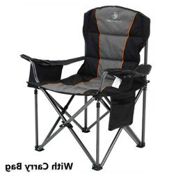 Camping Chair Heavy Duty Folding Chair with Cup Holder Overs