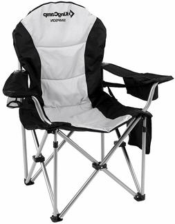KingCamp Camping Chair Heavy Duty Lumbar Back Support Oversi