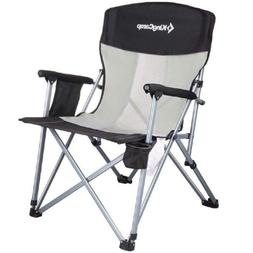 KingCamp Camping Chair Mesh High Back Ergonom with Cup Holde