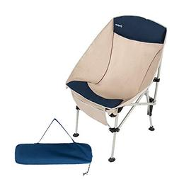 KingCamp Camping Chair, Oversized Heavy Duty Folding Chair P