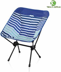 ALPHA CAMP Camping Chair Portable Ultralight Compact Folding