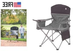Coleman Camping Chair with 4 Can Cooler, Super Comfortable,