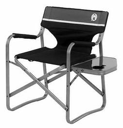 camping chair with side table aluminum outdoor