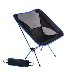 HASLE OUTFITTERS Camping Chairs, Ultralight Chairs, Moon Lei