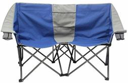Camping Dual Person Conversation Chair Camping Loveseat Loun