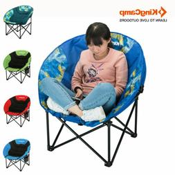 KingCamp Camping Folding Chair Moon Leisure Fishing Seat Pad