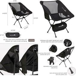 Camping Folding Chair Outdoor Ultralight Portable Heavy Duty