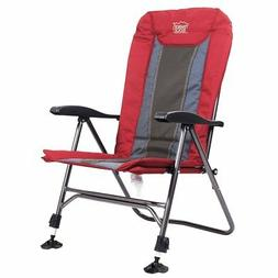 Timber Ridge Camping Folding Chair with Adjustable Back and