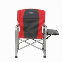 Kamp-Rite Outdoor Camping Folding Director's Chair with Side