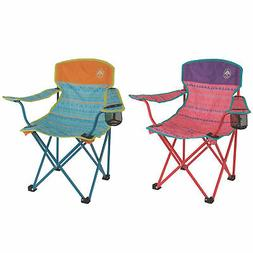 Coleman Kids Camping Glow-in-The-Dark Quad Outdoor Chair, Tr
