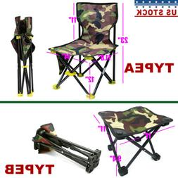 Camping Heavy Duty Portable Folding Chair Outdoor Picnic Fis