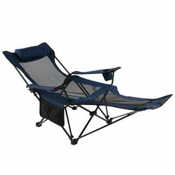 Camping Recliner And Lounge Chair Backpacking Folding With H