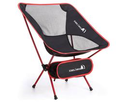Camping Ultralight Portable Folding Chair, MOON LENCE  with