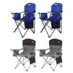 Coleman Camping - Lawn Chair w/Built-in Cooler and Cup Holde