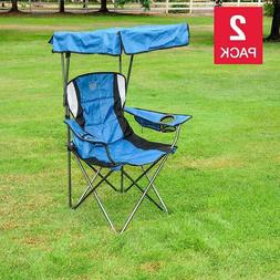 Timber Ridge Canopy Chair Foldable Outdoor Travel Camping Po