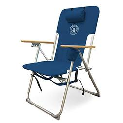 cj 7779nvy deluxe beach chair