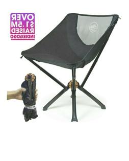Cliq chair the ultimate camping chair folding to bottle size