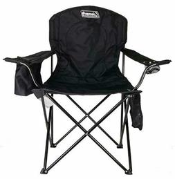 Coleman Portable Camping Quad Chair with 4-Can Cooler Campin