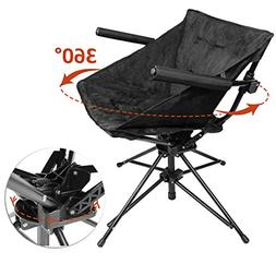 Zenree Collapsible Camping and Sports Hunting Chairs - Comfo