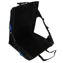 Crazy Creek Comfort Camping Chair Blue/Black - Portable Seat