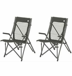 COLEMAN ComfortSmart Suspension Camping Folding Chairs w/ M