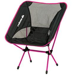 Compact Foldable Beach backpacking Camping Chair Potable Sto