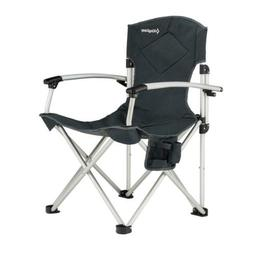 KingCamp Camping Quad Chair Smooth Armrest 1200D Oxford Fabr