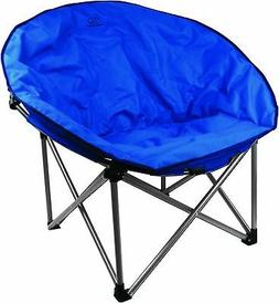 HIGHLANDER DELUXE PADDED MOON CHAIR CAMPING LEISURE FISHING